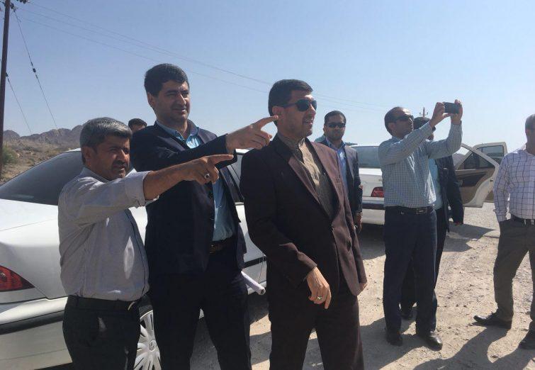 گزارش تصویری/بازدید نماینده غرب هرمزگان ، فرماندار بندرلنگه و برخی مسئولین استانی از روستاهای بخش مهران