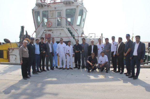 تقدیر از نیروهای ایمنی و آتش نشانی به مناسبت روز ملی ایمنی و آتش نشانی در بنادر و دریانوردی بندرلنگه