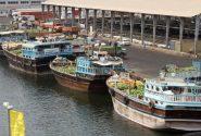 ۵۷۶ هزارتن کالا از بندر شیوء پارسیان به قطر صادر شد