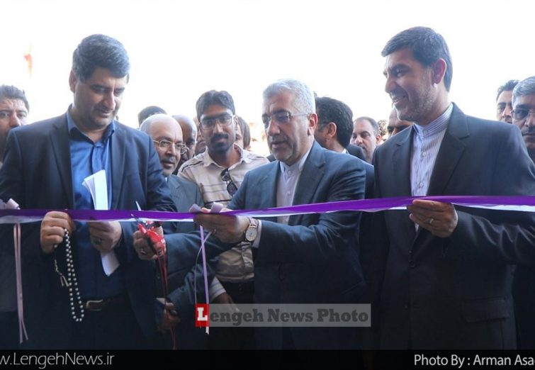 افتتاح مجتمع آب شیرین کن دژگان با حضور وزیر نیرو