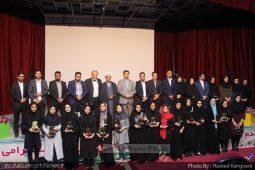 مراسم تقدیر از پذیرفته شدگان بندرلنگه در دانشگاه های سراسری کشور در سال ۹۷ + گزارش تصویری