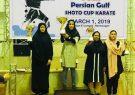 شهرستان بندرلنگه فاتح جام قهرمانی دهمین دوره مسابقات کاراته بانوان شوتوکاپ خلیج فارس شد.