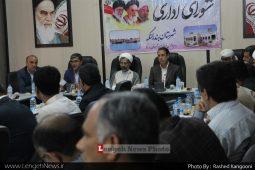 سومين جلسه شوراي اداري در سال ۹۸در سالن اجتماعات فرمانداري برگزار شد .