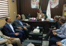 دیدار مدیر کل راه و شهرسازی استان هرمزگان با فرماندار بندرلنگه