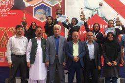 قهرمانی بانوان کاراته کای هرمزگانی در مسابقات آسیایی یزد