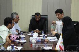جلسه تعیین هیات رئیسه شورای اسلامی شهر بندرلنگه برگزار شد