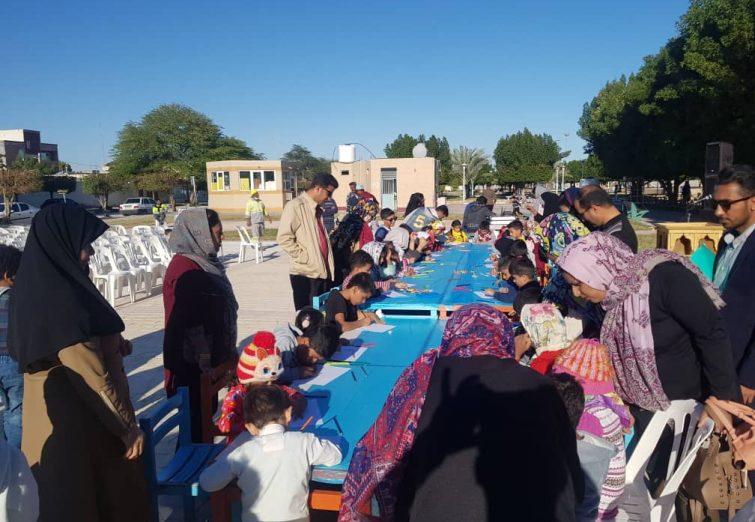 برگزاری جشن بمناسبت ۲۹ دیماه روز هوایی پاک توسط شهرداری و شورای اسلامی شهر تاریخی بندرلنگه در پارک ساحلی (ژاندارمری)