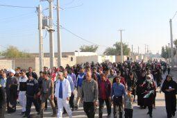عصر امروز همایش بزرگ پیاده روی خانواده (محله رودباری) به مناسبت دهه مبارک فجر همراه با جشن بزرگ پیروزی انقلاب با حضور مردم و مسئولین برگزار شد .