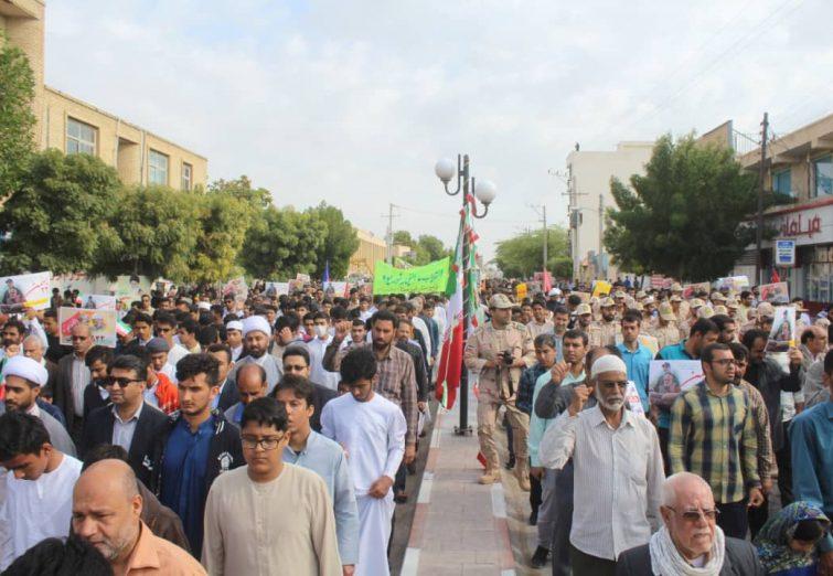حماسه حضور / راهپیمایی باشکوه ۲۲ بهمن در بندرلنگه