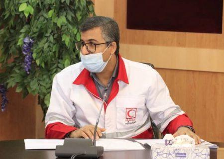 کاروان نذر آب هلال احمر استان بوشهر به بندرلنگه اعزام میشود