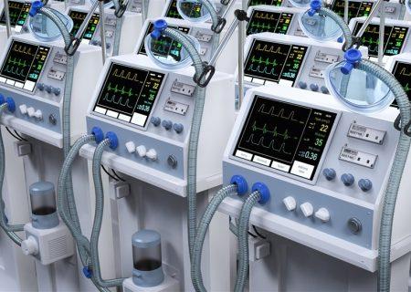 بهمنظور مقابله با کرونا وزارت نفت ۱۳ دستگاه ونتیلاتور به هرمزگان اهدا کرد