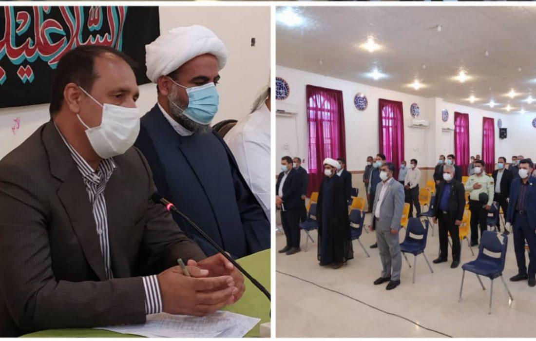 برگزاری شورای اداری شهرستان بندرلنگه در بخش شیبکوه