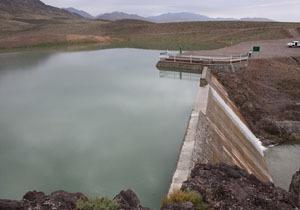 آبگیری سازههای آبخیز داری بندر لنگه