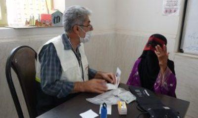 خدمات رایگان پزشکی به بیماران لنگهای