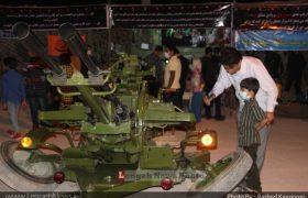 افتتاح نمایشگاه دفاع مقدس همزمان با آغاز هفته دفاع مقدس