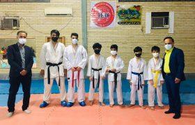 برگزاری مسابقات لیگ کاراته شهرستان در بخش پسران به مناسبت هفته تربیت بدنی و ورزش