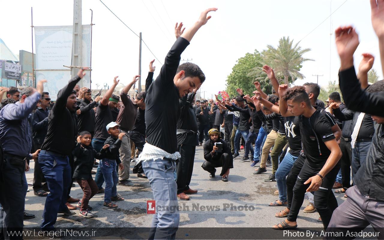 عاشورای حسینی در بندرلنگه به روایت تصویر