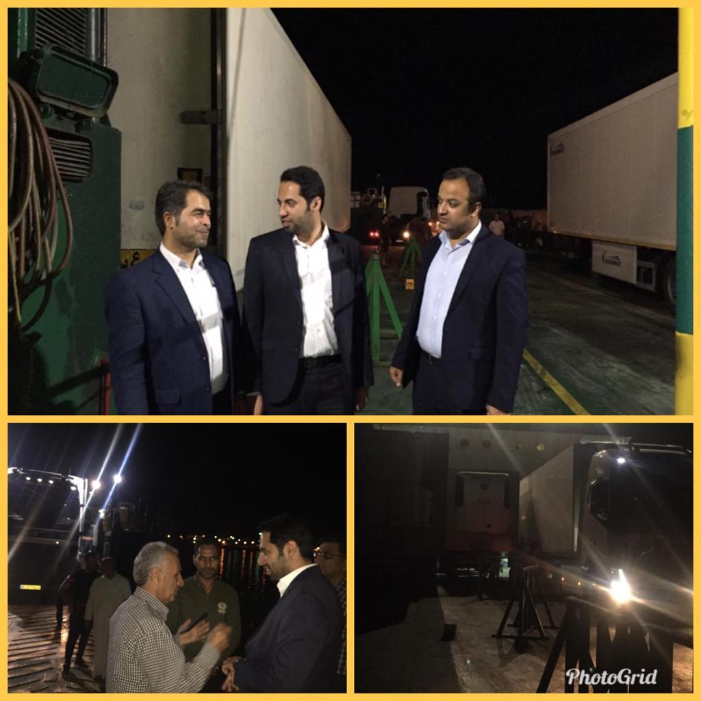 ارسال اولین محموله خط صادرات پارسیان به کشور قطر/ ۱۲۶ تُن میوه با ارزش ۵۰ هزار دلار صادر شد