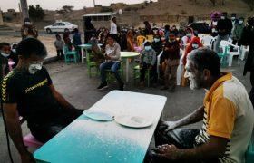 اولین برنامه از فعالیتهای جهادی، فرهنگی همدلی و نشاط در روستا در روستای زلزله زده کلاتو برگزار شد