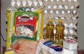تهیه بسته های معیشتی برای زنان سرپرست خانوار و نیازمندان