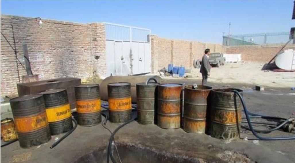 قاچاق ۳۰هزار لیتر گازوئیل در بندرلنگه