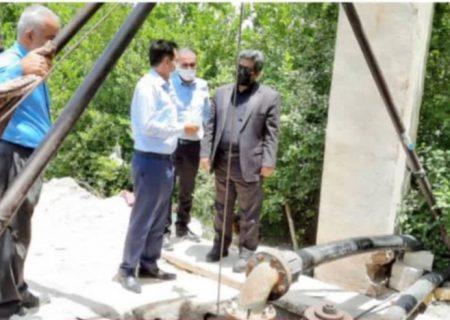 فرماندار هرمزگان از بخش مهران بازدید کرد
