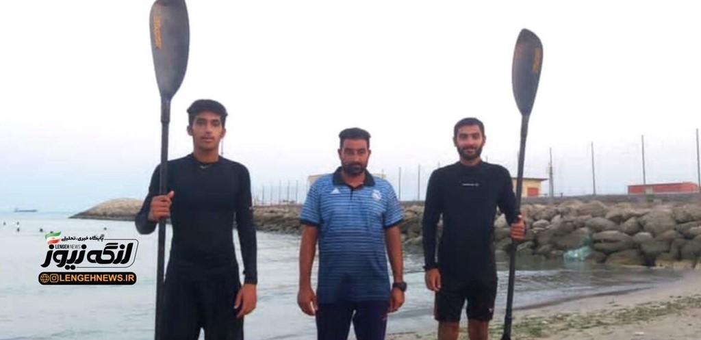 دو پاروزن و یک مربی از بندرلنگه نماینده استان هرمزگان در مسابقات کشوری شدند