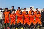 برد تیم برق بندرکنگ در مقابل امواج گشه در لیگ دسته برتر شهرستان بندرلنگه